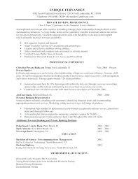 Sample Resume Banker For Bank Jobs Freshers Banking Job Fresher