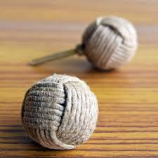 Nautical Drawer Pulls Canada by Jute Draw Knob Drawer Pull Or Handle Nautical Ball From