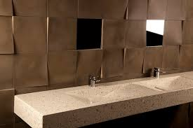 Flo Sink And Dune Tile By DEX Kitchen Studio Of Naples Inc
