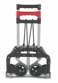 100 Collapsible Hand Truck GRAINGER APPROVED Folding Straight Bar 175 Lb Overall