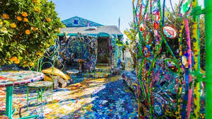 take a colorful tour through venice s mosaic tile house