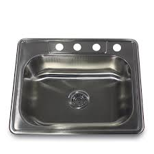 Overmount Kitchen Sinks Stainless Steel by Adorable Rectangle Shape Overmount Kitchen Sink Featuring Silver