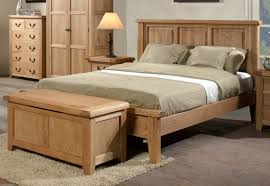 furniture light wood queen platform bed with headboard and