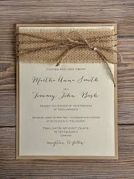 Diy Rustic Wedding Invitations Invitation Kit Burlap Fabric Template