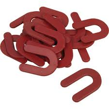 Leveling Spacers For Tile by Qep 1 8 In Horseshoe Shim Tile Spacers Pail Of 150 10321q The