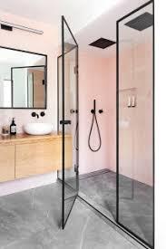 75 badezimmer mit rosafarbenen fliesen ideen bilder