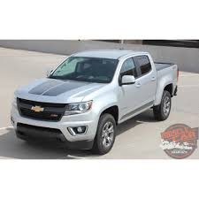 Chevy Colorado Hood Graphic SUMMIT Dual Racing Stripe Factory OE ... 2018 Colorado Midsize Truck Chevrolet Dieselpowered Zr2 Concept Crawls Into La 2015 2016 2017 Chevy Bed Stripes Antero Decals First Drive Gmc Canyon The Newsroom Xtreme Is A Tease News Ledge Vs 10 Differences Labadie Gm Blog Get Truckin With Used Pickup Of Naperville Overview Cargurus Zone Offroad 112 Body Lift Kit C9155 Z71 4wd Diesel Test Review Car And Driver 2014 Sema Show New Midsize Concepts By Exterior Interior Walkaround