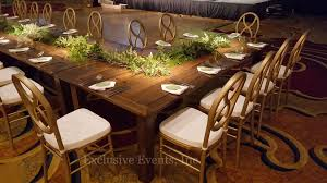 Exclusive Events - Table And Chair Rental Farm Tables Rustic Dpc Event Services Farmhouse Folding Table Chairs Turquoise Chairs With Farmhouse Table Decor Demure Sofa From Sofology Plymouth Mobilya Painted Fniture Company Steel X Base Pine Ding Room 13 Free Diy Woodworking Plans For A And Chair Rentals Colorado Tents Events 7ft Ding Set 5 Bench Crossback Whitewashed