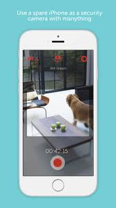 Manything security camera app on the App Store