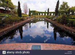 The Italian garden of the Cummer Museum is seen in Jacksonville