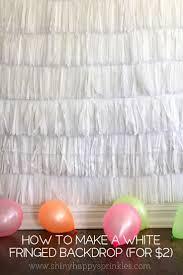 Foil Fringe Curtain Dollar Tree by Best 25 Diy Party Backdrop Ideas On Pinterest Diy Backdrop