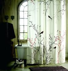 Curved Curtain Rod Kohls by Vining Leaf Semi Sheer Shower Curtain Inside Size X Christmas