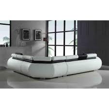 canapé d angle relax pas cher canapé d angle droit fixe relax en simili 6 places