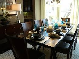 Model Home Dining Rooms Triveny Neighborhood