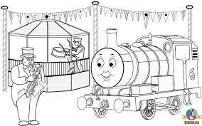 And Thomas The Train Coloring Pages For Fun Drawing Lessons