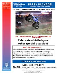 Toughest Monster Truck Tour | The Ranch, Larimer County Fairgrounds ... This Friday And Saturday Night Sept 1819 Days Chevrolet Fall Discounted Tickets To Monster Jam Show Dates Beseatsfastcom Greensboro Coliseum Complex 2018 Now On Sale Youtube Trucks At Stowed Stuff Seatgeek Truck Tacoma Dome July Cborangeburg Toughest Tour The Ranch Larimer County Fairgrounds Mclennan Mud Fest Monster Truck Show Other Watribcom