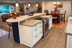 Kitchen Island With Cooktop 4