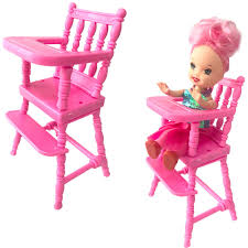 NK 1 Pcs Mini Doll Furniture Dinner Room Kindergarten High Chair For Barbie  Doll Sister Kelly 1:12 Doll Dollhouse Accessories DZ Micuna Ovo High Chair Luxe Incl Leatherette Harness Tray Amazoncom Sale New 5in1 Baby Doll Stroller Car Seat Hello Justin Feeding Booster You Me Toysrus Modern Spring Sale Rare Antique Blue 1930s Pladoll Vintage Doll Highchair Wooden High Chair Playing Table Vintage Toy 50s Toys Wood Tos Dolls Fniture Olivias World Wooden Fniture Dolls Toy Play Td0098ag For Levittown Pa Patch La Nina Girls Toys And Accsories Caboose Kids Harry The Hound Baby Alive