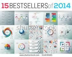 Big Set Of 15 Modern Infographic Business Design Templates Bestsellers 2014 Elements For