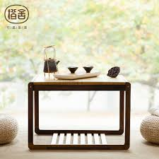 100 Living Room Table Modern US 17331 24 OFFSquare Tea Chinese Style Bamboo Coffee Wooden Room Home Furniturein Coffee S From Furniture