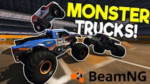 100 Monster Trucks Crashing INSANE MONSTER JAM RALLY DERBY BeamNG Drive Gameplay
