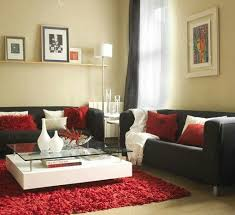 download white and red living room ideas home intercine