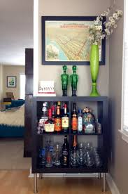 Ikea Canada Dining Room Hutch by Ikea Expedit Turned Bar Organize U0026 Decorate Pinterest Ikea