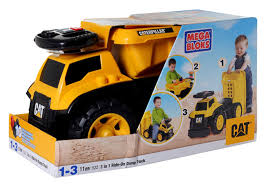 Mega Blocks - Caterpillar 3 In 1 Ride-On Dump Truck Price In India ... Buy Mega Bloks Cat Large Vehicle Dump Truck In Cheap Price On 3 In 1 Ride On Man Christmas 27pc Cat Toy Set Stage Stores 12 Bsp Amazoncom Caterpillar Constructor Toys Games Lil Cnd88 From 2349 Nextag Mb Truck Platform Bx9 Factcool Bloks Push Along And Sitride Toy Articulated Trade Me