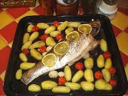 cuisine bar poisson bar au four la cuisine des jours