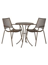 John Lewis & Partners Ala Mesh Garden Table And Chairs Bistro Set, Bronze Brompton Metal Garden Rectangular Set Fniture Compare 56 Bistro Black Wrought Iron Cafe Table And Chairs Pana Outdoors With 2 Pcs Cast Alinium Tulip White Vintage Patio Ding Buy Tables Chairsmetal Gardenfniture Italian Terrace Fniture Archives John Lewis Partners Ala Mesh 6seater And Bronze Home Hartman Outdoor Products Uk Our Pick Of The Best Ideal Royal River Oak 7piece Padded Sling Darwin Metal 6 Seat Garden Ding Set