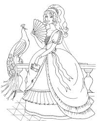 Princess Coloring Pages Not Disney
