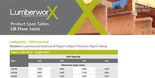 Floor Joist Span Table Engineered by Floor Joist Spacing Nz 100 Images 100 Floor Joist Calculator