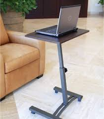 Furinno Simplistic Computer Desk by Portable Laptop Desk Cart Mobile Notebook Stand Rolling Computer