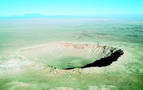 Meteor Crater Also Known As Barringer In Winslow Arizona Measures Nearly