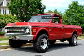 100 1972 Chevy Truck 4x4 34 Ton 44 For Sale And Van