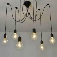 chandelier rustic edison bulb chandelier pendant chandelier