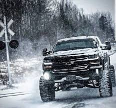 100 Trucks In Snow Chevy Snow Chevy Pinte