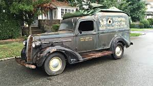 Hard Working Past: 1937 Dodge Humpback Panel Truck