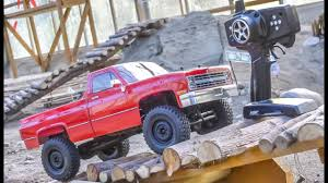 100 Rc Pickup Truck RC Gets Unboxed And Dirty For The First Time YouTube