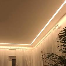 sala88 u profil aluminium led eloxiert l 2m x b 4 0cm x h 1 85cm alu kanal für led streifen acryl abdeckung milchig weiß 2x endkappen