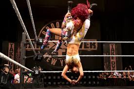 Curtain Call Video Wwe by Sasha Banks Bad Bump From Wwe Nxt Takeover Brooklyn Looks Even