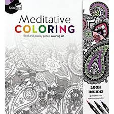 Spice Box Meditative Coloring 50 Anti Stress Pages