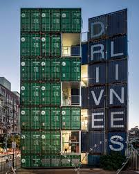 100 Shipping Containers Buildings LOTEK Uses 140 Shipping Containers To Build Drivelines Studios