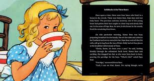 Goldilocks The Three Bears Rewritten For Adults Is Not Something You Should EVER Read To Kids