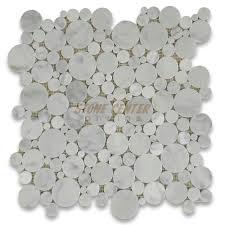 carrara marble tile italian white mosaic