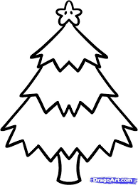 Easy To Draw Christmas Drawings