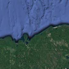 Where Did The Edmund Fitzgerald Sank Map by Ss Edmund Fitzgerald Wreck Location Map U0026 Gps Coordinates