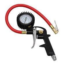 EXELAIR Analog Pistol Grip Tire Inflator/Deflator Gauge With 13 In ... Tire Inflator From Northern Tool Equipment 2018 Car Truck Tyre Tire Air Inflator Pump Hose Pssure Meter Gauge Digital Compressor Deko For Suv Motor 6mm Brass Valve Connector Clipon Epauto 12v Dc Portable By Cheap Find Deals On Line At 12volt 150 Psi Compact Mini Inflatorsuperpow Auto 100psi Inflators Or China Jqiao Auto Audew