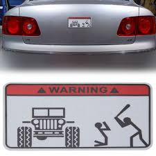 1pc WARNING JEEP PVC Car Truck Window Reflective Funny Sticker Decal ... Got This Truck For My Wife Funny Bumper Sticker Vinyl Decal Diesel Custom Stickers Maker Vistaprint 2018 15103cm Cute Ladybug Car Motorcycle Ideas Diesel Stickers Ebay Window Decals For Cars Harga Produk 185m I Love Boss Window Joke Malaysia Dog Paw Print Suv Aliexpresscom Buy The Shocker Jdm Newest 3d Eyes Peeking Hoods Trunk Thriller New Design 22x19cm Do Not Touch My Car Decorative Aliauto Mickey Mouse Peeping Cover Graphic Decals Amazoncom
