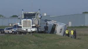 100 Truck Rollover Semi Truck Rollover Closes Down Interstate Ramp Top Stories